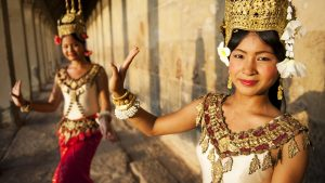 Aspara Dancer in Siem Reap, Cambodia, included in tours offered by Asia Vacation Group