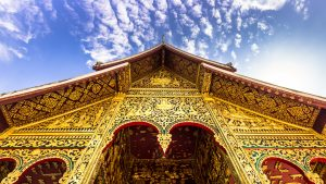 Haw Pha Bang temple at Luang Prabang, Laos, included in tours offered by Asia Vacation Group