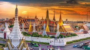 Wat Phra Kaew at Bangkok, Thailand, included in tours offered by Asia Vacation Group