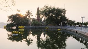 Tran Quoc pagoda in Vietnam, a trusted partner of Asia Vacation Group