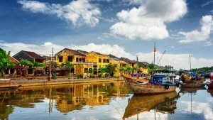 Day time scene in Hoi an, Vietnam, included tours offered by Asia Vacation Group