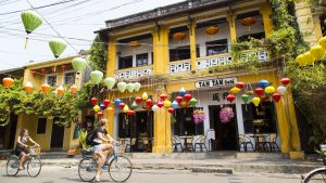 Street life in Hoi an, Vietnam, included in tours offered by Asia Vacation Group