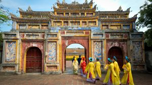 Imperial city in Hue, Vietnam, included in tours offered by Asia Vacation Group