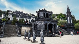 Khai Dinh tomb in Hue, Vietnam, included in tours offered by Asia Vacation Group